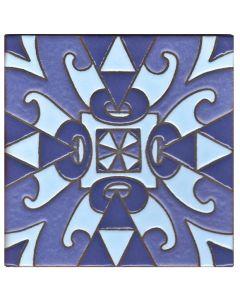 Arto Brick - Handpainted Deco: SD127LIGHTBLUE- Artillo Tile