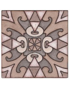 Arto Brick - Handpainted Deco: SD127TAN- Artillo Tile