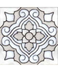 Arto Brick - Handpainted Deco: SD185HWHITE - Artillo Tile
