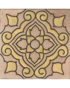 Arto Brick - Handpainted Deco: SD185HYELLOW - Artillo Tile