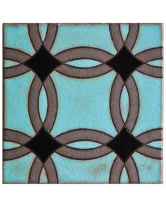 Arto Brick - Handpainted Deco: SD217C- Artillo Tile
