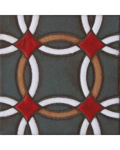 Arto Brick - Handpainted Deco: SD217HA- Artillo Tile