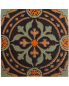Arto Brick - Handpainted Deco: SD227HE- Artillo Tile