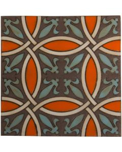 Arto Brick - Handpainted Deco: SD228HF- Artillo Tile