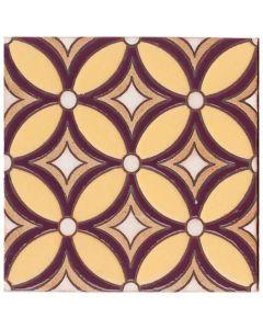 Arto Brick - Handpainted Deco: SD230F- Artillo Tile
