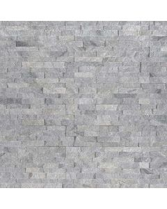 "MSI Stone - M-Series: Sky Gray 4.5"" x 16"" - Stacked Stone Panel"