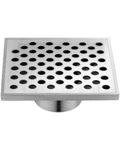 "Dawn® Rhone River Series - Square Shower Drain 5""L Threaded"