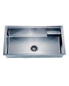 Dawn® Undermount Small Corner Radius Single Bowl Sink With Basket (BK710)