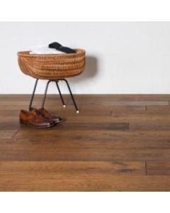 D&M Flooring - Terra Cotta - Engineered - Wirebrushed - Handscraped -White Oak