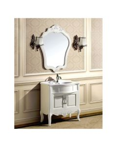 "Dawn® Traditional Style Vanity Set 31"" w/ Single Ceramic Sink"