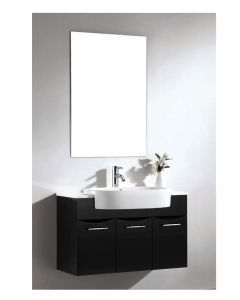 "Dawn® European Style Vanity Set 33"" w/ Single Ceramic Sink Top"