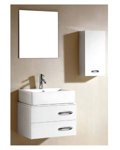 "Dawn® European Style Vanity Set 23"" w/ Single Ceramic Sink Top"