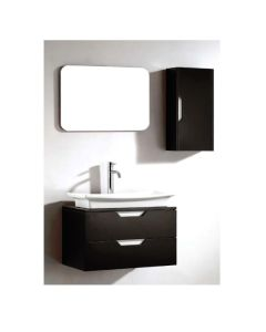 "Dawn® European Style Vanity Set 26"" w/ Single Ceramic Sink Top"