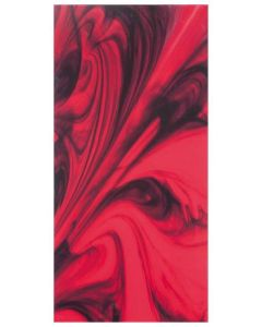 "Red Glass 12""x24"" - Decor Tile"