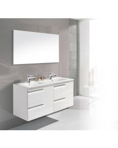 Dawn® - Vitale Vanity: White - Double Sink