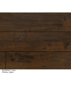 Republic Flooring  - Frontier: Whiskey Sapele - 12.3mm Laminate