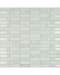Happy Floors - Crackle: Mosaic Crackle White