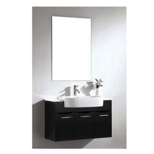 "Dawn® European Style Vanity Set 33"" w/ Single Ceramic Sink Top"