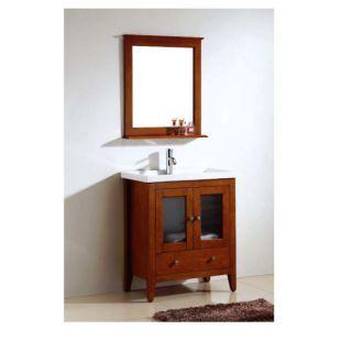 """Dawn® American Style Vanity Set 26"""" w/ Single Ceramic Sink Top"""