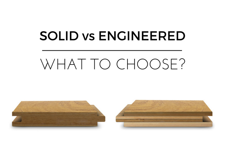 Solid VS Engineered wood