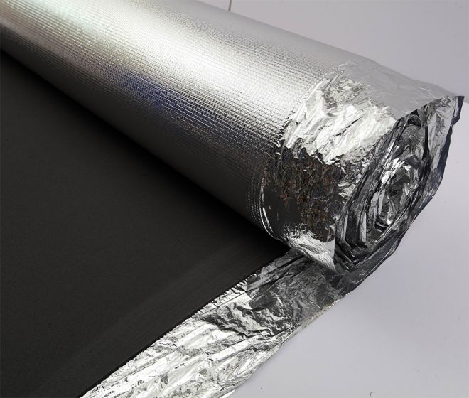 Underlayment - E V A Silver Padding 3mm