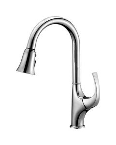 Dawn® Single-lever pull-out spray kitchen faucet, Chrome