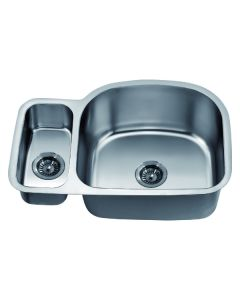 Dawn® Undermount Double Bowl Sink(Small Bowl on Left)