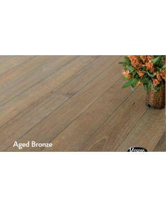 Virginia Hardwood - Genuine French Oak: Aged Bronze - Engineered Wirebrushed French Oak