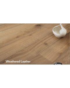 Virginia Hardwood - Genuine French Oak: Weathered Leather - Engineered Wirebrushed French Oak