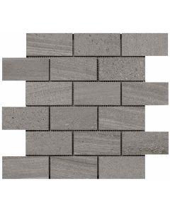 """LDI - Montpellier: Grigio 11.5""""x11.5"""" - HD Ceramic Mosaic"""