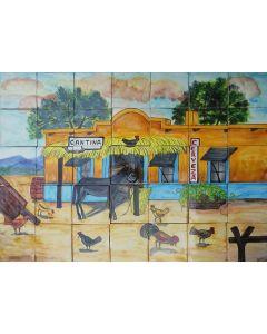 Talavera Murals - History Views: Mur25