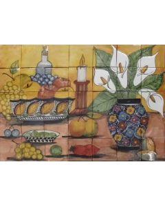 Talavera Murals - People and Nature: Mur4