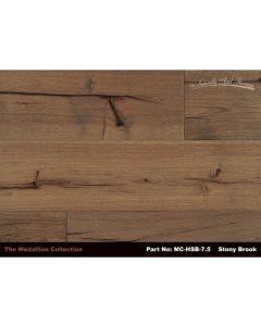 Naturally Aged Flooring - Medallion: Stony Brook - Engineered Wirebrushed